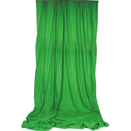 Impact Chroma Muslin Background (10 x 24', Green)