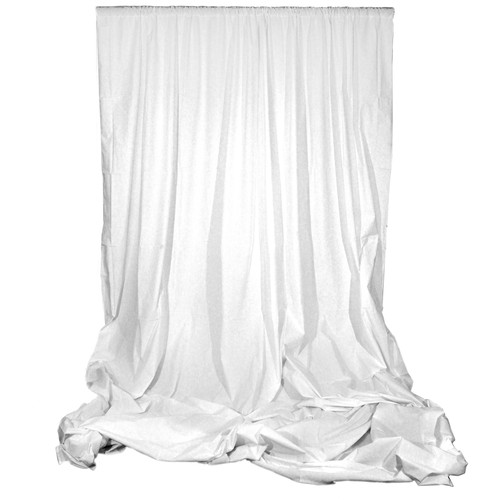 Impact Muslin Background (10 x 12', White)
