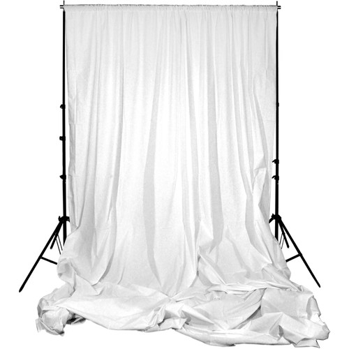 Impact Background Support Kit - 10 x 24' (White)