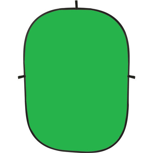 Impact Collapsible Background - 5 x 7' (Chroma Green)