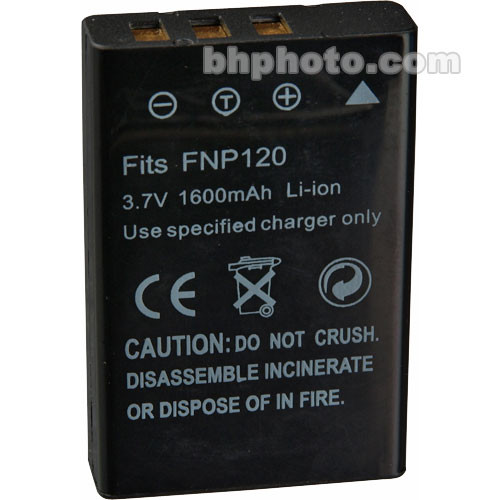 SANYO DB-L50 Replacement Battery Li-Ion 3.7V 1800mAh