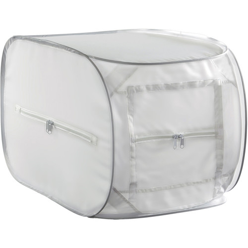 "Impact Two-Light Fluorescent Digital Light Shed Kit - 15 x 15"""
