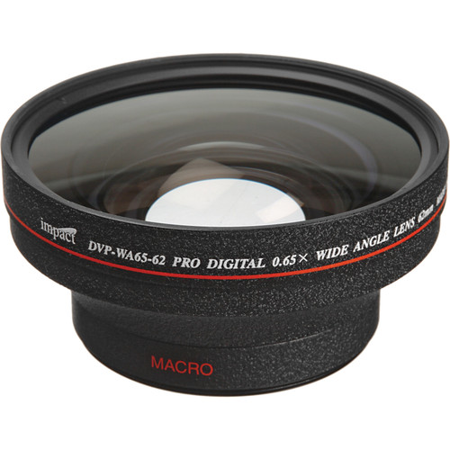 Impact DVP-WA65-62 62mm Wide Angle Converter Lens