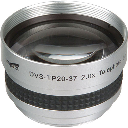 Impact DVS-TP20-37 37mm 2.0x High-grade Telephoto Conversion Lens