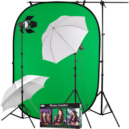 Impact Interview Green Screen Kit