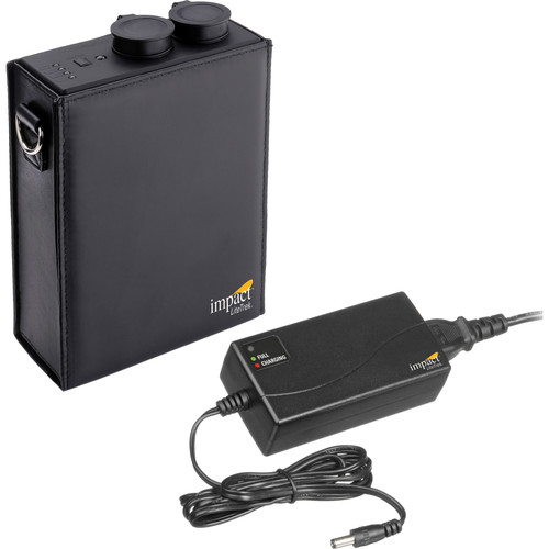 Impact Mini LiteTrek (LT) Battery Pack and Charger With CZ Canon Cable