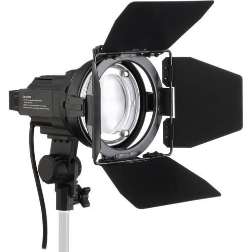 Impact Qualite 300 Focusing Flood 2 Light Soft Kit (120VAC)