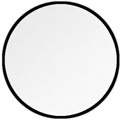 Impact Collapsible Circular Reflector Disc - White Translucent - 52""