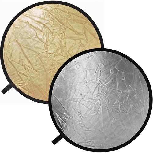 "Impact Collapsible Circular Reflector Disc - Gold/Silver - 42"""