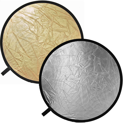 Impact Reflector Disc, Collapsible - Gold, Silver - 52""