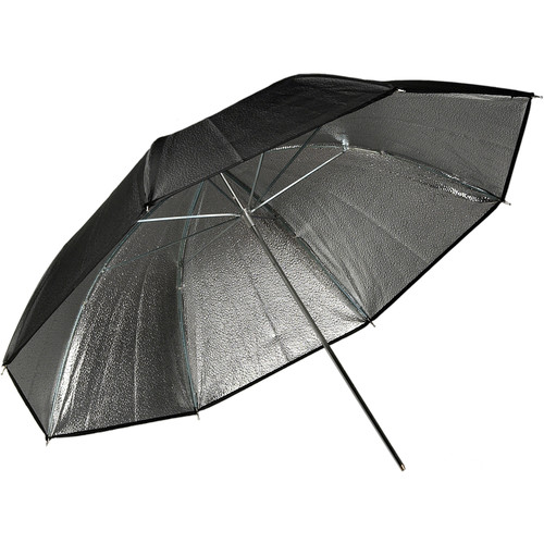 "Impact Beaded Silver Umbrella (33"")"