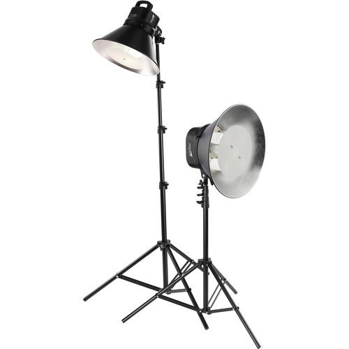 Impact VA902 Fluorescent Cool Light Two Fixture Kit (120VAC)