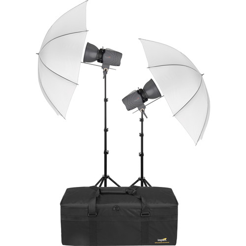 Impact Two Monolight Kit with Case (120VAC)