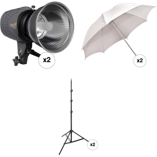 Impact Two Monolight Kit without Case (120VAC)