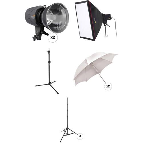 Impact Three Monolight Portrait Backlight Kit without Case (120VAC)