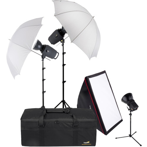 Impact Three Light Portrait Backlight Kit