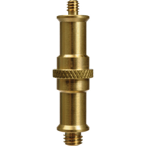 "Impact Double Ended Spigot with 1/4""-20 and 3/8"" Male Threads"
