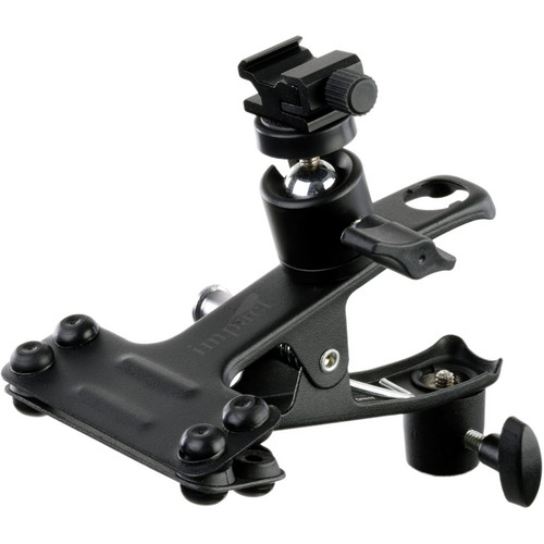 Impact Large Clip Clamp with Ball Head Shoe Mount