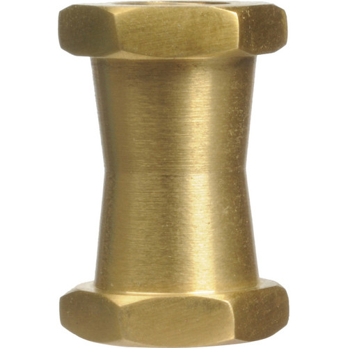 """Impact Short Double Female Stud for Super Clamps with 1/4""""-20 & 3/8"""" Threads"""