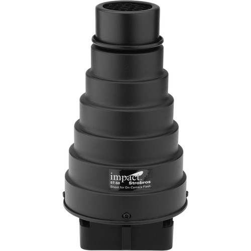 Impact Strobros Snoot for On-Camera Flash (Version II)