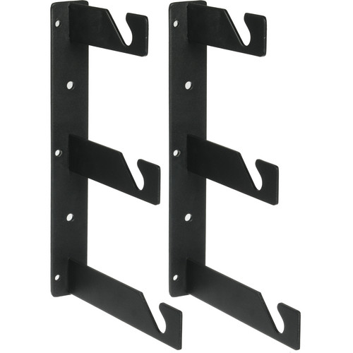 Impact Background Triple Hooks - Pair (Black)