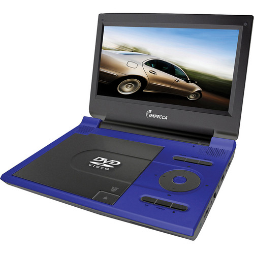 Impecca DVP915B Portable DVD Player (Electric Blue)