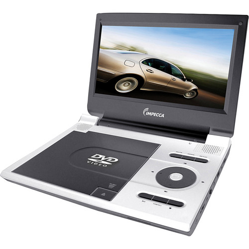 Impecca DVP915W Portable DVD Player (White)