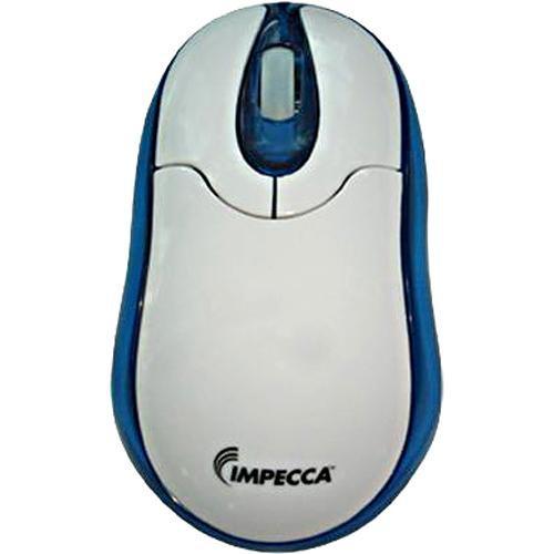 Impecca WM300 Illuminated USB Optical Mouse (White)