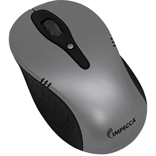 Impecca WM600 Wireless Optical Mouse (Silver/Black )