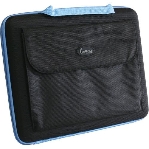 "Impecca Sleek Laptop Hard Case Fits Netbooks up to 11.6"" (Black/Blue)"