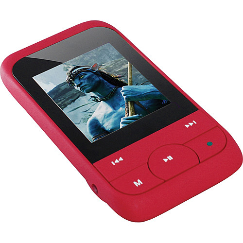 Impecca MP1847 Digital Media Player (Red)