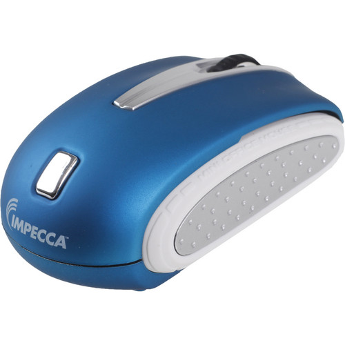 Impecca Travelling Notebook Mouse (Blue)