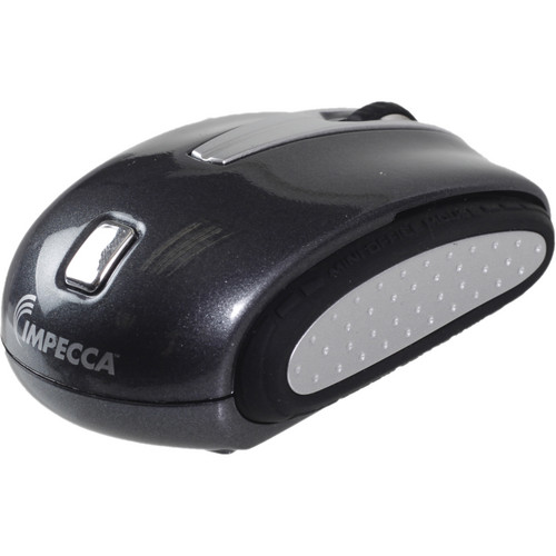 Impecca Travelling Notebook Mouse (Ebony Black)