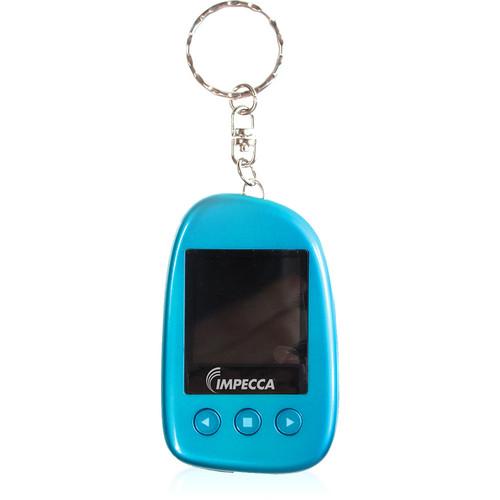 "Impecca 1.5"" Digital Photo Keychain (Blue)"