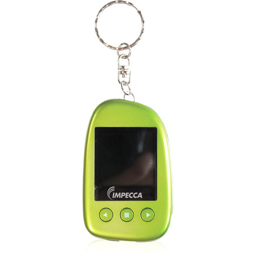 "Impecca 1.5"" Digital Photo Keychain (Green)"