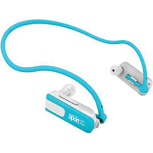 Impecca 4GB Wire Free Sports MP3 Player (Aqua Blue)