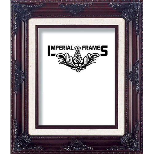 "Imperial Frames F324 Picture Frame (8 x 10"", Wood with Gesso Covering, Brown)"