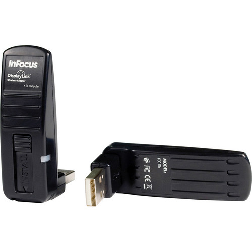 InFocus Wireless DisplayLink Pre-paired USB Adapters