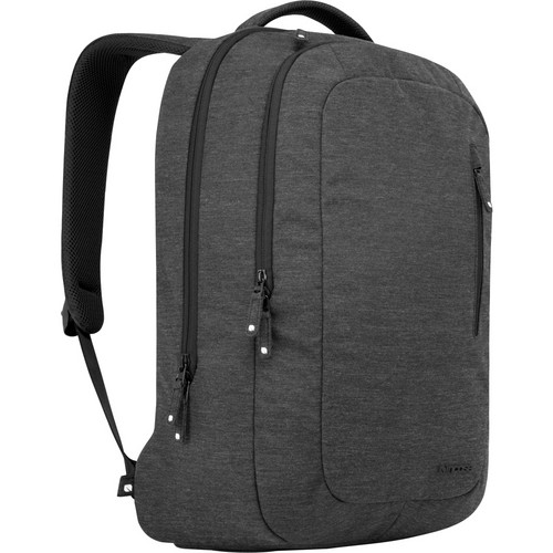 "Incase Designs Corp Heathered Backpack for 17"" MacBook Pro (Black Heather)"