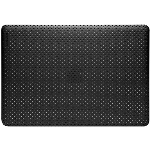 "Incase Designs Corp Perforated Hardshell Case for 13"" White Unibody MacBook (Black Soft Touch)"