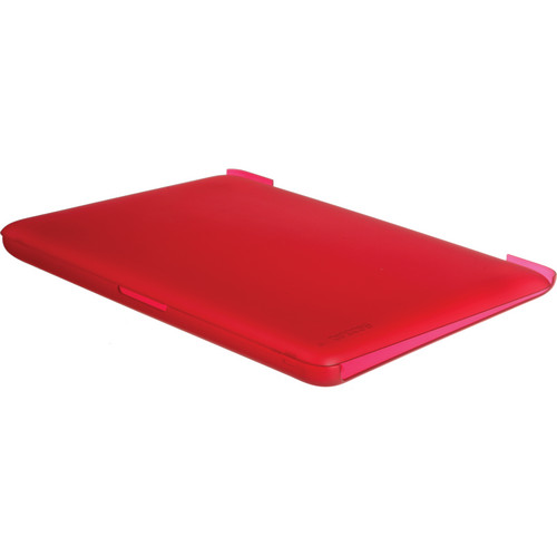 "Incase Designs Corp Hardshell Case for the MacBook 13"" (Raspberry)"