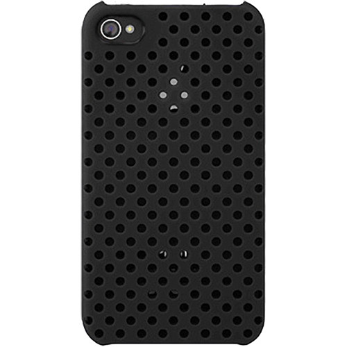 Incase Designs Corp Perforated Snap Case for iPhone 4 & 4S (Black)