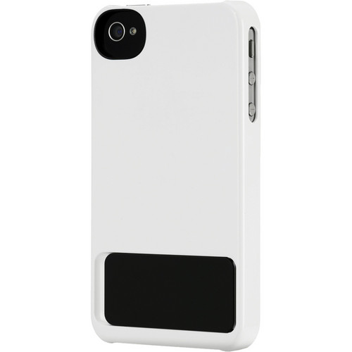 Incase Designs Corp Stand Snap Case for iPhone 4/4S (White / Black)