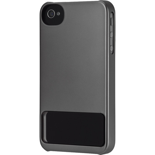 Incase Designs Corp Stand Snap Case for iPhone 4/4S (Steel / Black)