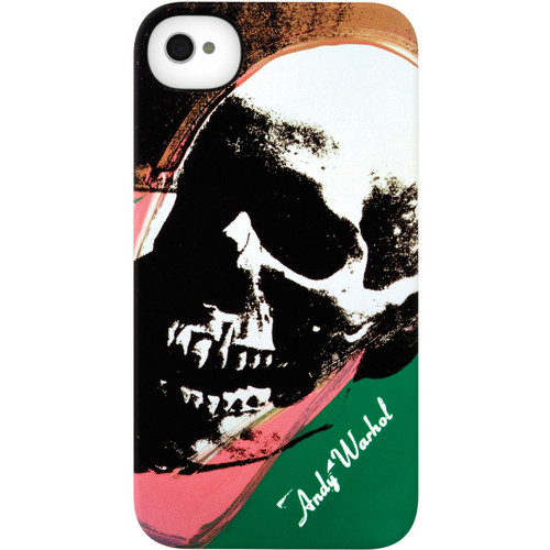Incase Designs Corp Snap Case Warhol Collection for iPhone 4 & iPhone 4S (Skull Design)