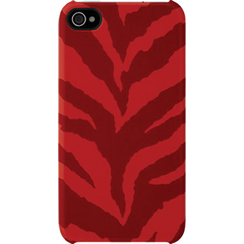 Incase Designs Corp Animal Snap Case for iPhone 4/4S (Red Tiger)