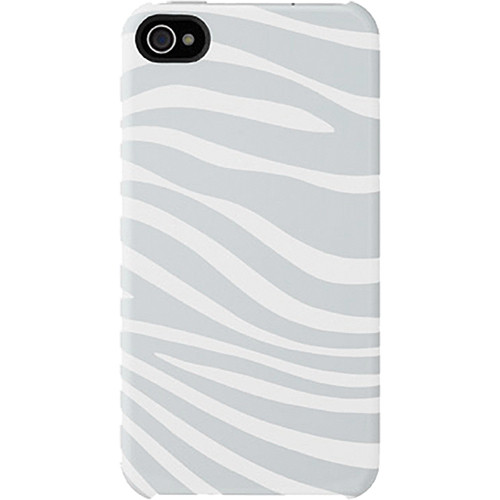 Incase Designs Corp Animal Snap Case for iPhone 4/4S (White Zebra)