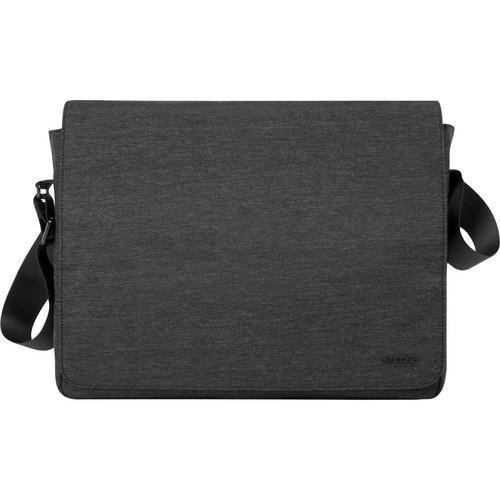"Incase Designs Corp Heathered Shoulder Bag for 15"" MacBook Pro (Black Heather)"