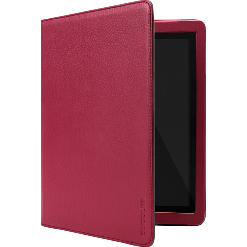 Incase Designs Corp Book Jacket Select for iPad 2nd, 3rd, and 4th Generation (Dark Cranberry/Gray)