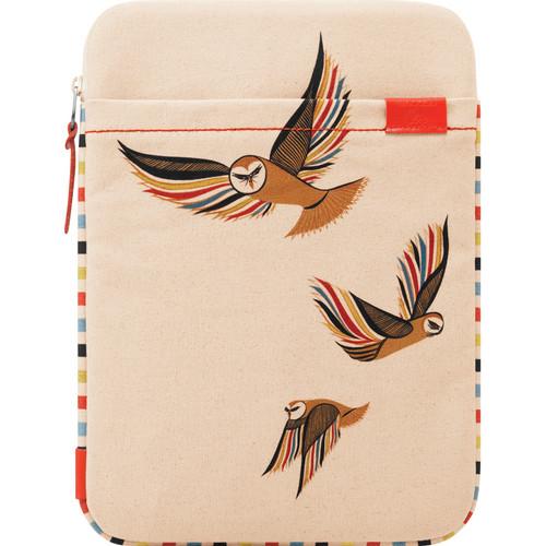 "Incase Designs Corp Clare Rojas Canvas Sleeve for 13"" MacBook Pro, 13"" MacBook Air or 13"" MacBook (Owl)"
